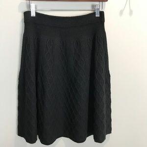 MOTH Black Sweater Skirt Sz M